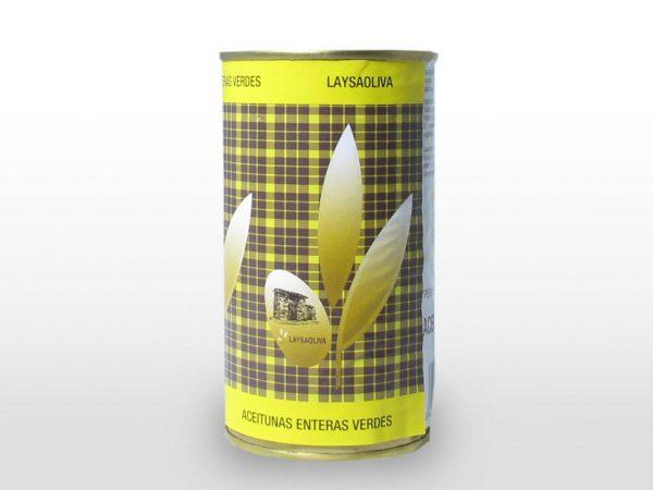 Aceituna Entera verde 200 L 350 gr