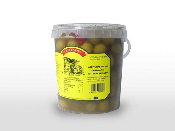 Aceituna alinada color cambiante - 1,45 kilos