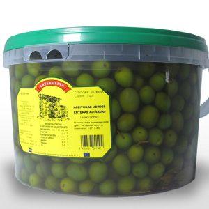 Aceituna Aliñada Verde Campo Real - 7,5 Kilos