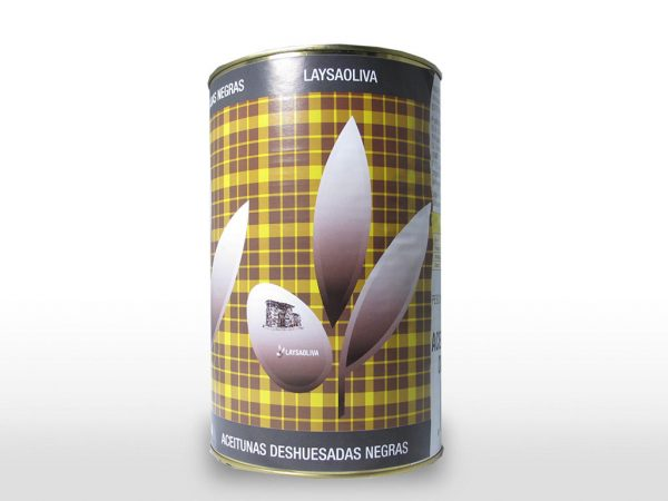 Aceituna Deshuesada negra 200 L/4700 gr