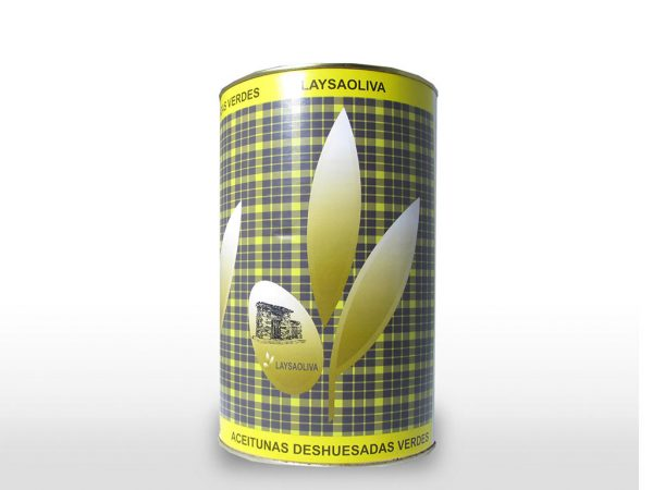 Aceituna Deshuesada verde 240 L/4700 gr