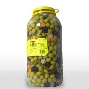 Aceituna Entera Popurri - 7,5 Kilos