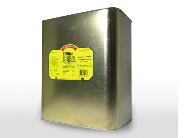Aceituna Entera Verde 160 L/5.000 gr