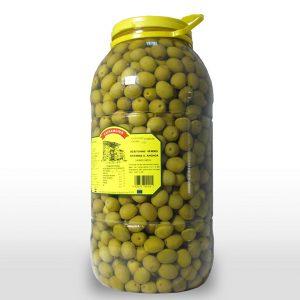 Aceituna Entera Verde Sabor Anchoa - 7,5 Kilos
