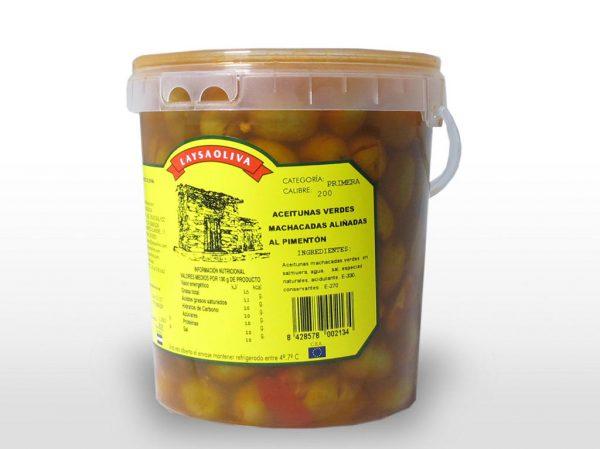 Aceituna Machacada al Pimentón - 1,45 Kilos