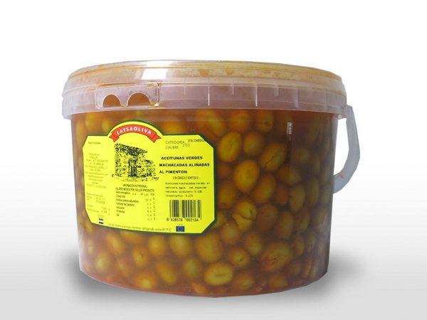 Aceituna Manchada al Pimentón - 7,5 Kilos