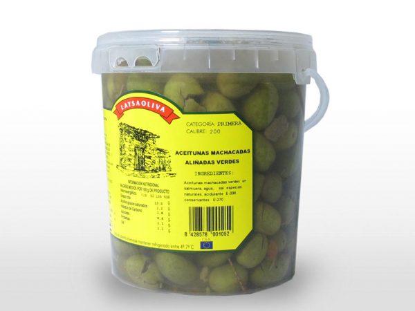 Aceituna Manchada verde Laysaoliva